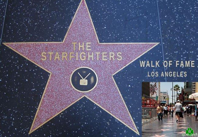 Sensationell: Starfighters - eigener Stern auf dem
