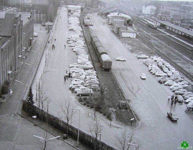 Hast Du hier auch Dein Auto abgestellt? Der überfüllte Union-Parkplatz