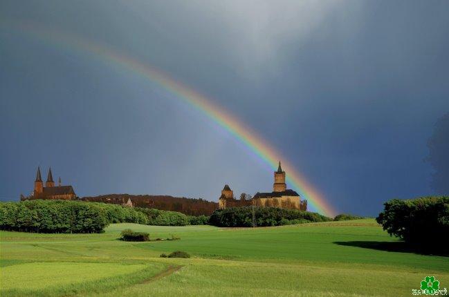Een Kleefse regenboogfoto