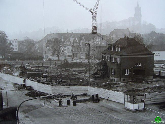 Interessant: Baubeginn des Union-Verwaltungsgebäudes