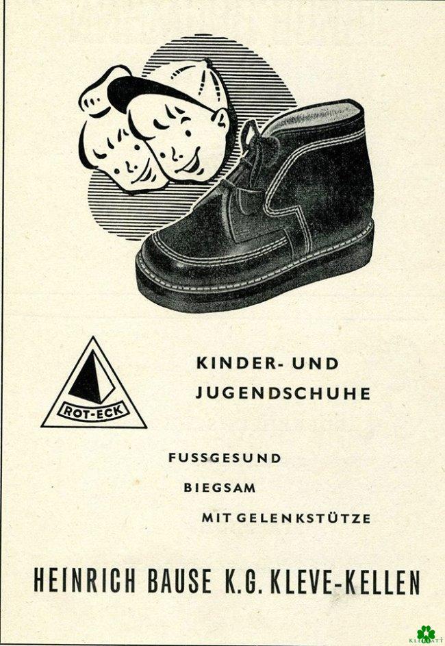Als Micky Maus noch keine Bause-Schuhe trug