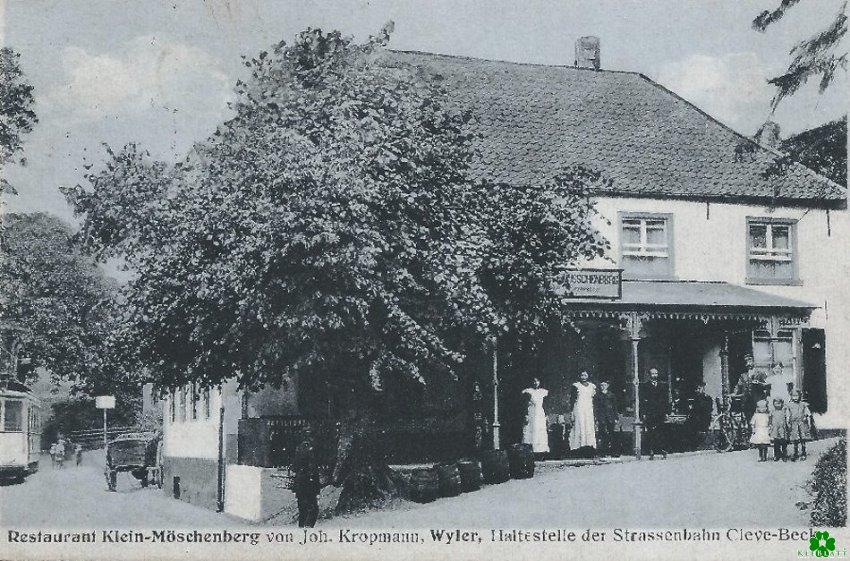 Heb er van gehoord? Restaurant Klein-Möschenberg in Wyler