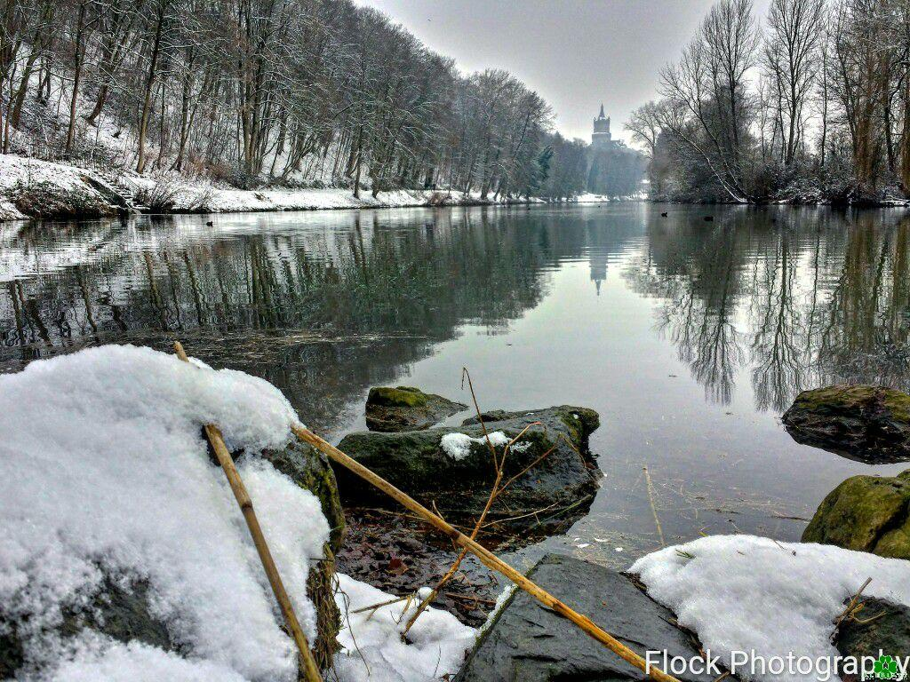Klever Winter-Idylle am Kermisdahl