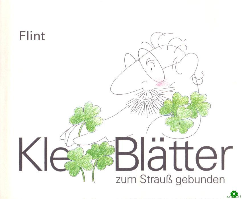 Kle-Blätter zum Strauß gebunden