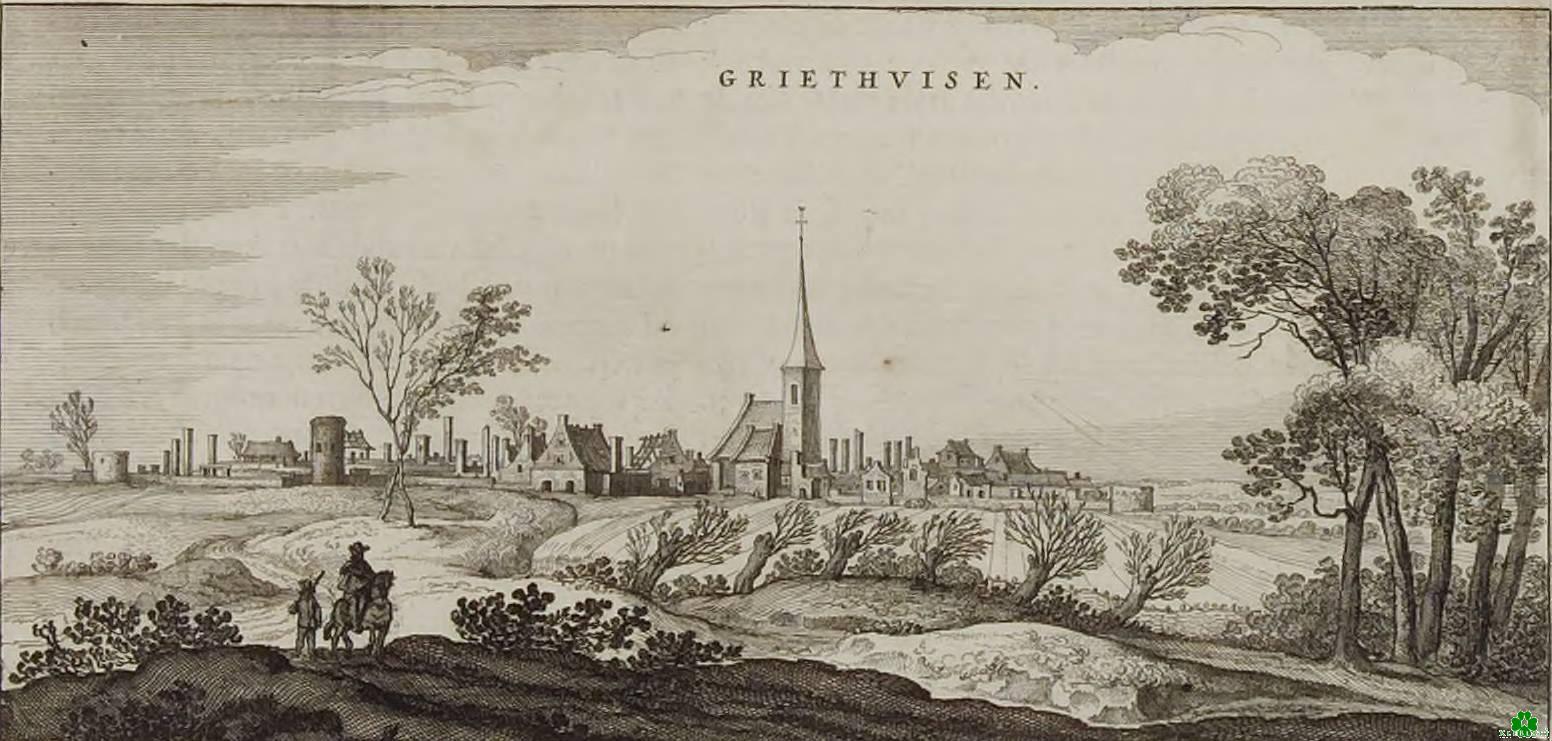Griethausen im 17. Jahrhundert