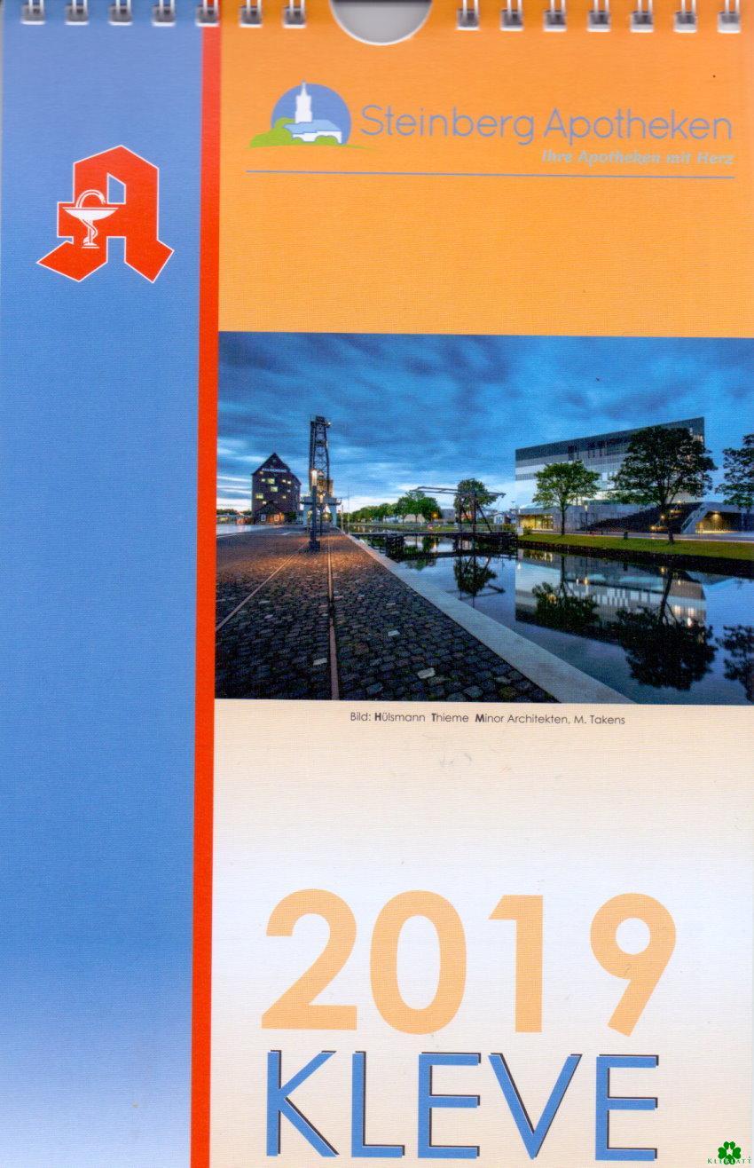 Hol Dir den neuen Kalender für 2019