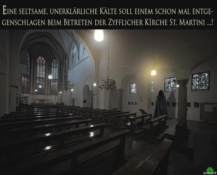 Ist es wirklich so kalt in der Zyfflicher Kirche?