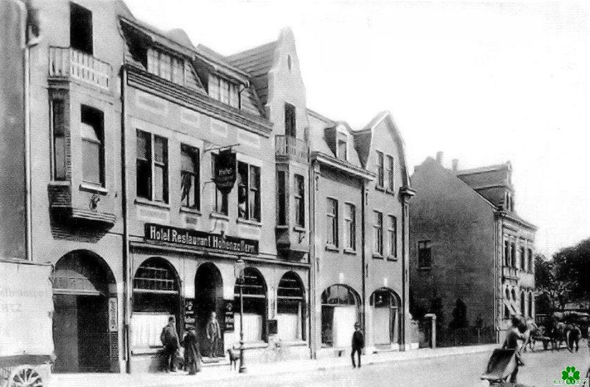 Das Hotel Hohenzollern an der Herzogstraße