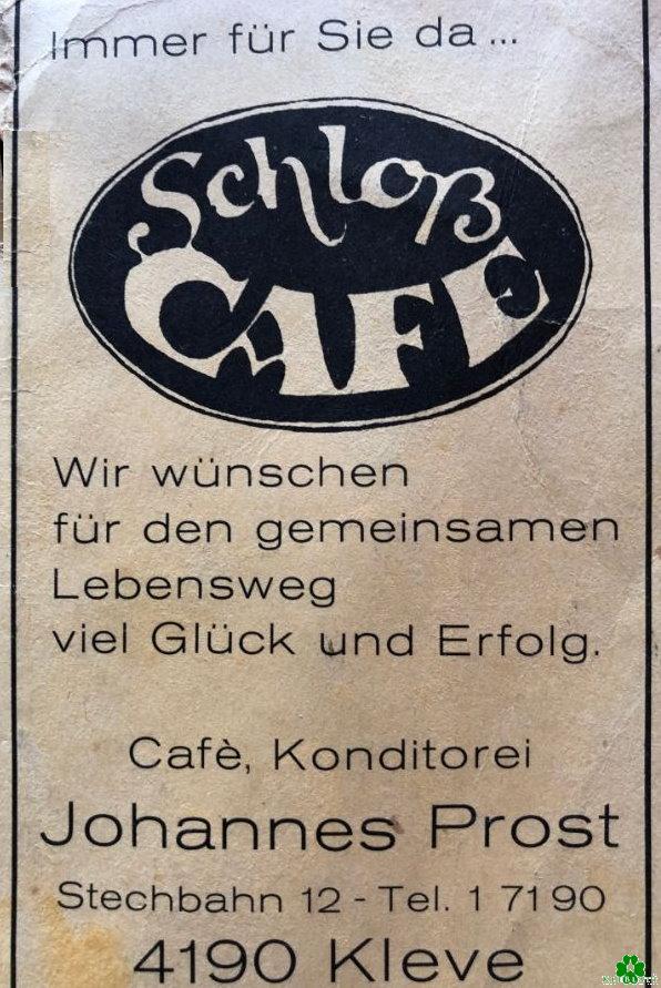 Das Schloß Cafe' auf der Stechbahn