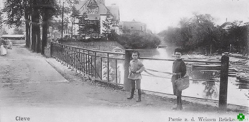 An der Weissen Brücke zu Cleve