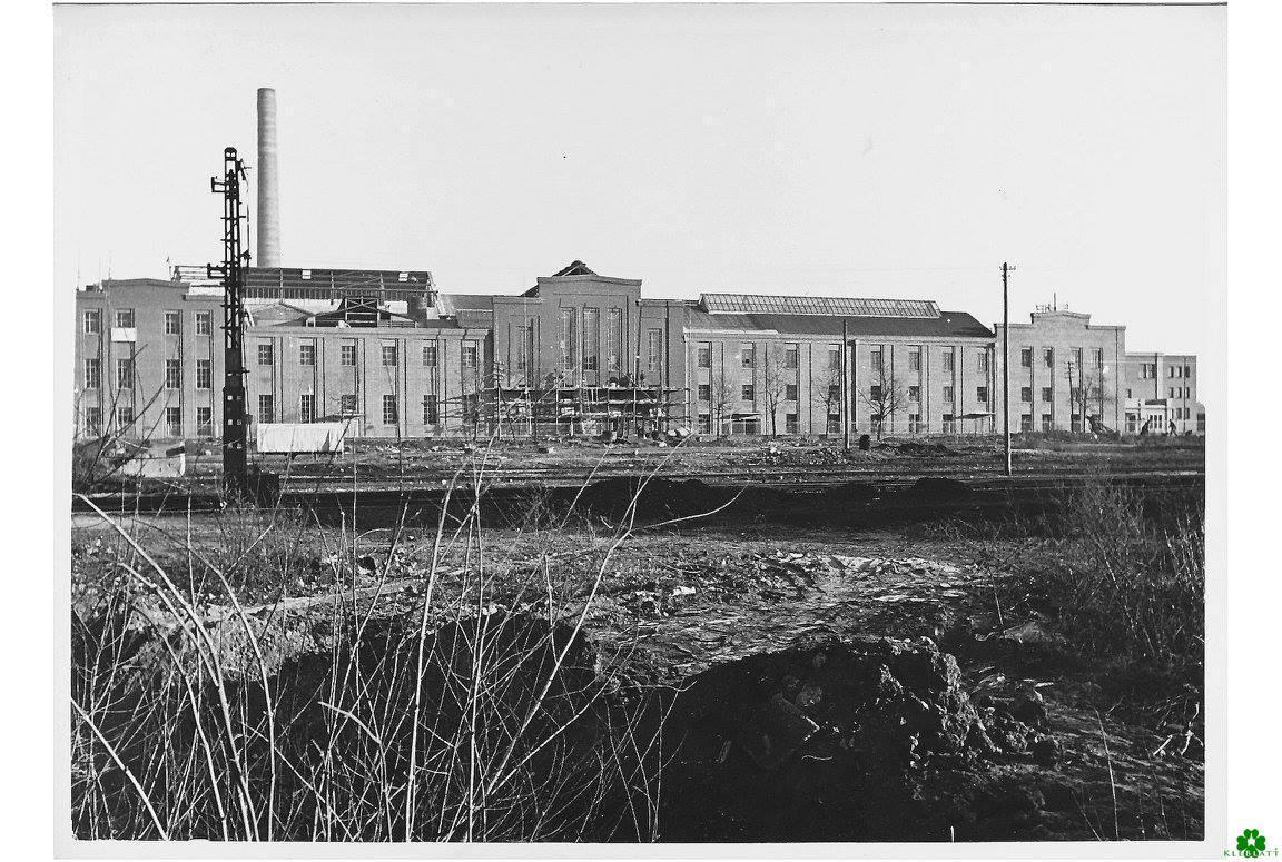 Der Wiederaufbau der Margarinewerke van den Bergh