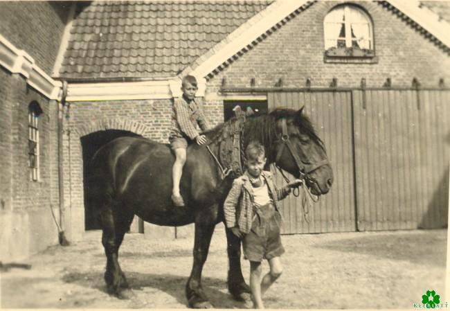 Bist Du als Kind auch auf einem Pferd geritten?