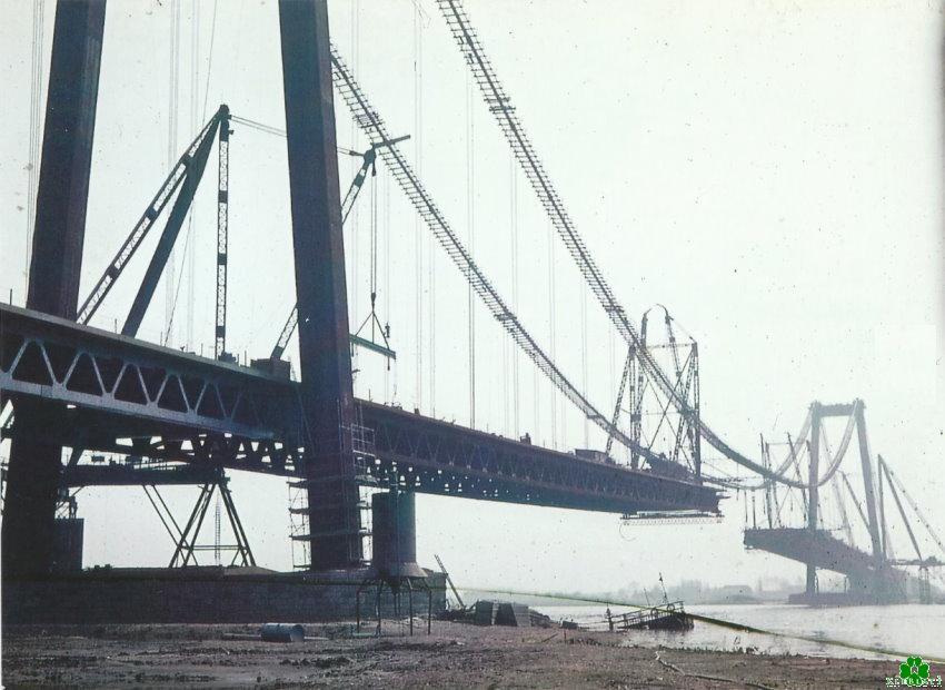 Toen er een stuk ontbrak in de Rijnbrug