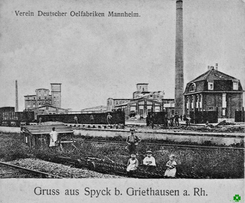 Kent u de oliefabriek bij Griethausen?