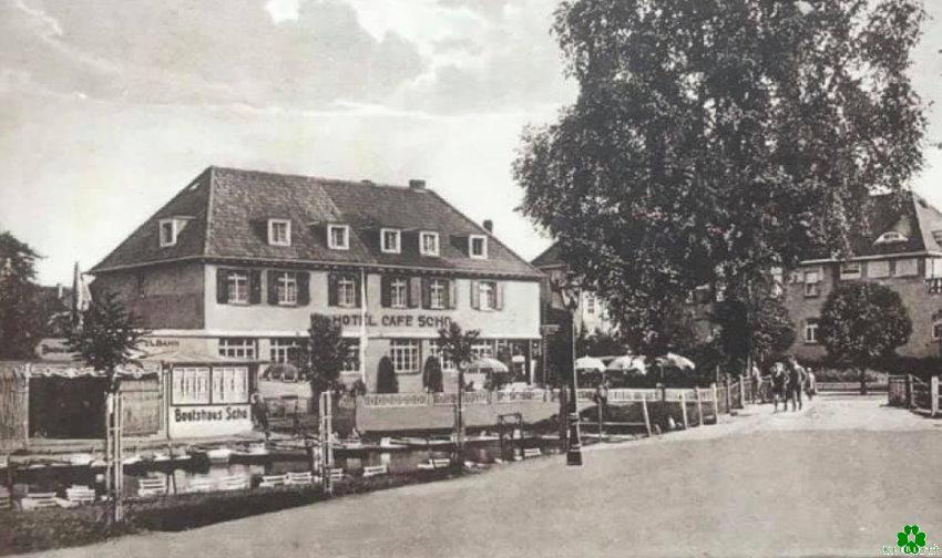 Het onvergetelijke boothuis & Hotel Cafe Scho in Kleef