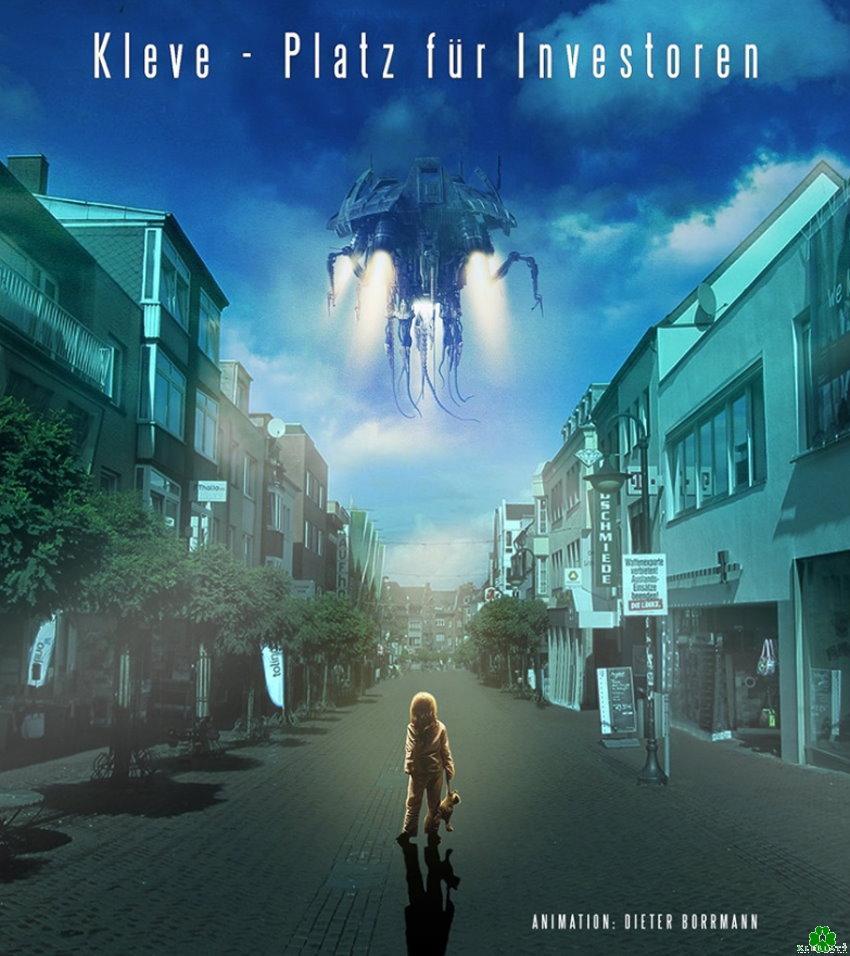 Heb je het buitenaardse ruimteschip ook gezien in Kleef?