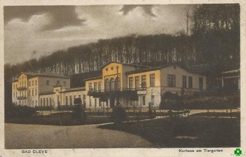 Das großartige Kurhaus von Bad Cleve