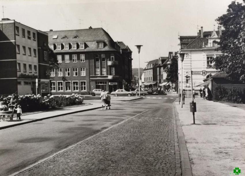 Kanntest Du noch diesen Anblick am Bahnhof in Kleve?