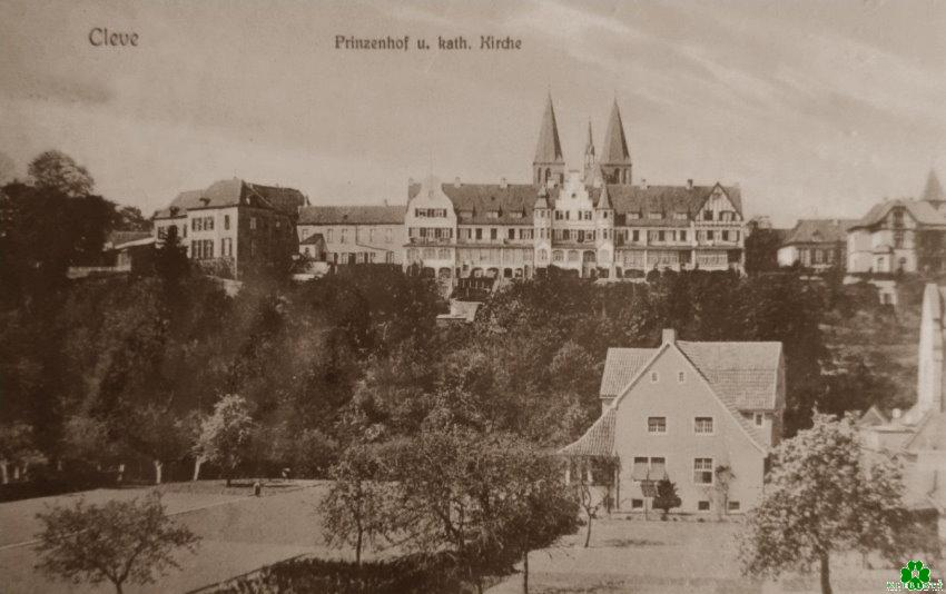 Die beiden Türme hinter dem Prinzenhof