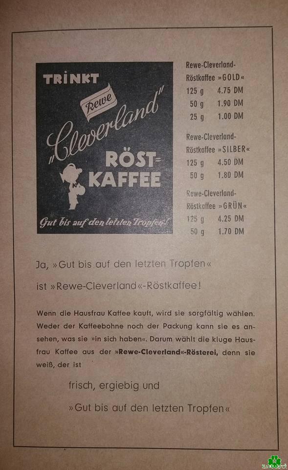 Heb je ooit Cleverland gebrande koffie gehad?