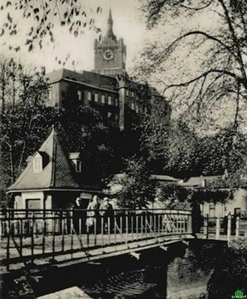 Besuch an der Weissen Brücke von Kleve
