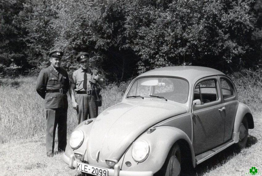 Bent u in 1955 de grens met Wyler overgestoken?