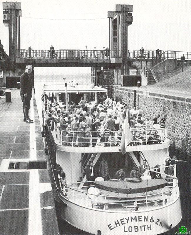 Gasten en bezoekers per schip naar Kleve?