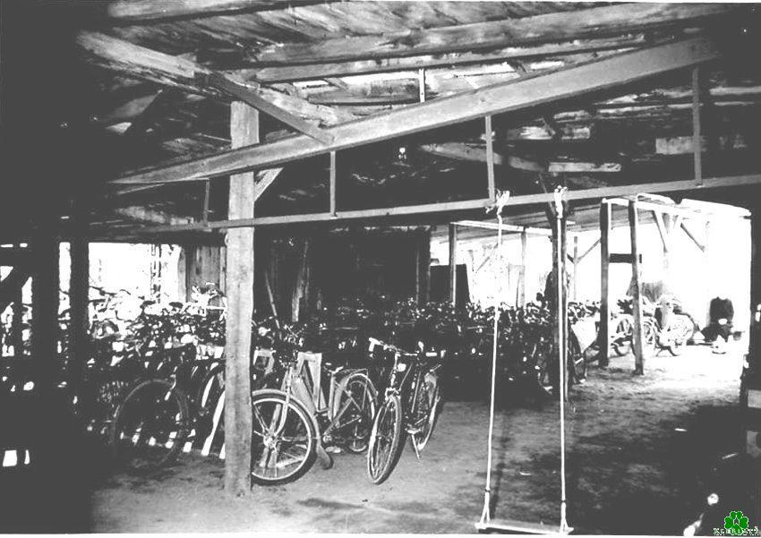 Hast Du hier auch Dein Fahrrad abgestellt?